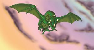 Ilustração da capa do livro Durilim - Filho do Dragão - Crônicas de Oldar