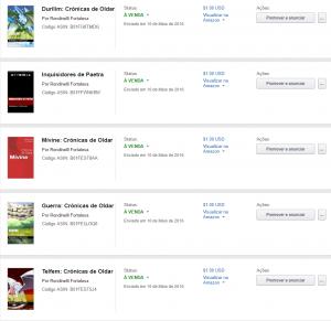 Lançamento livros na KDP Amazon